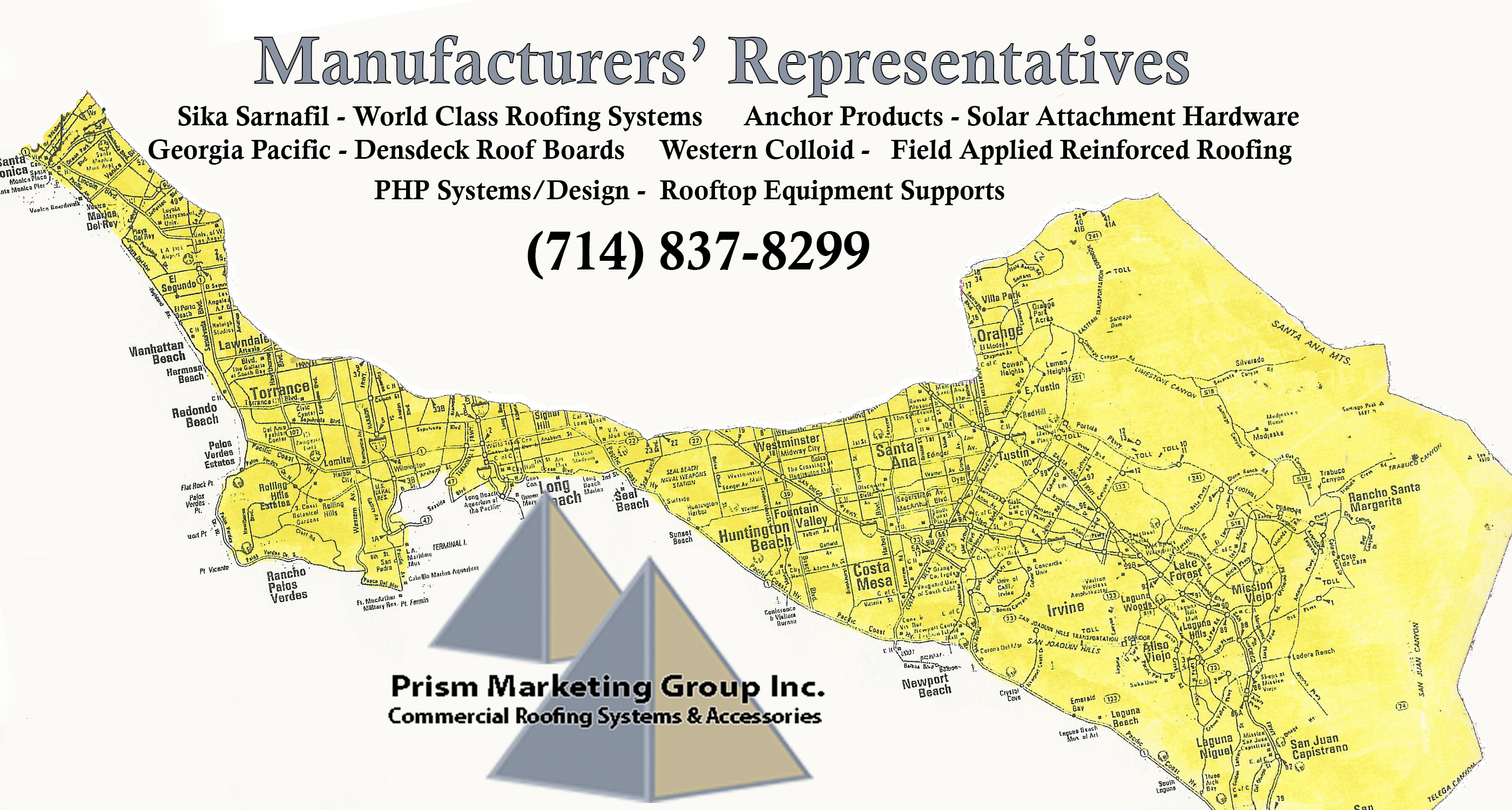 Prism Marketing Group - California Service Area